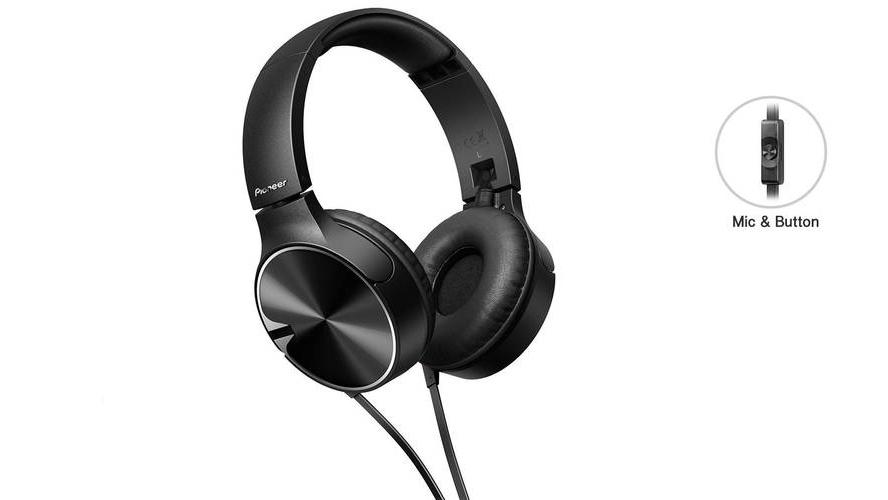 Recenzja słuchawek Pioneer SE-MJ722T-K