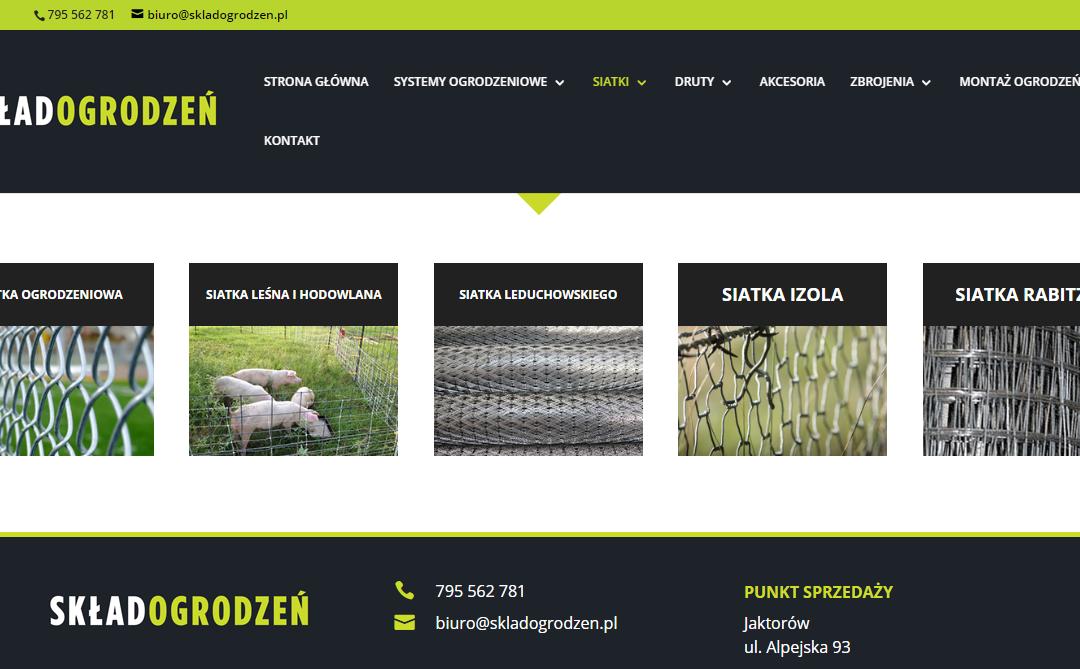 Realizacja strony internetowej oraz logo.